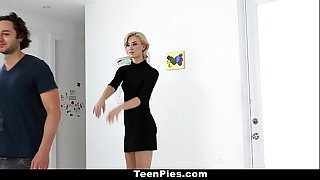 TeenPies- Blonde Teenager Gets Fucked and Filled Up