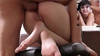 aria18 years model beautiful the greatest casting anal invasion beauty wet juicy pussy 4